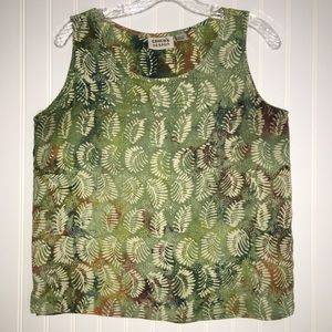Chico's sleeveless top SIZE 1